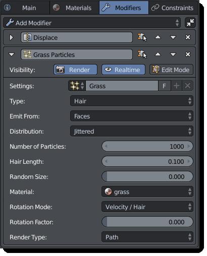 Particles Modifier
